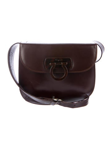 24cd4f2ccd Salvatore Ferragamo Gancio Shoulder Bag - Handbags - SAL59577