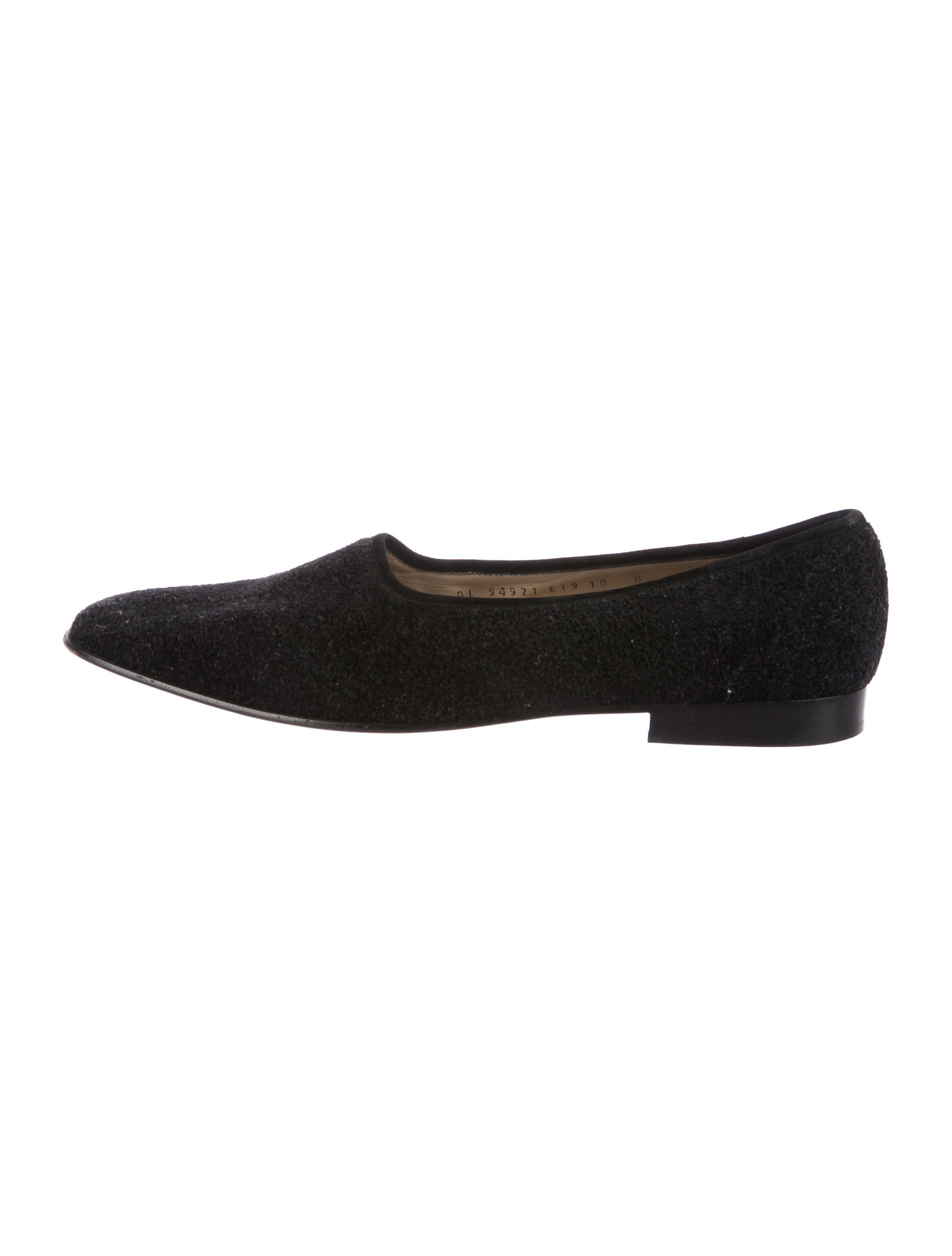 Salvatore Ferragamo Woven Round-Toe Loafers clearance sale online new arrival online rKoeo6W2I