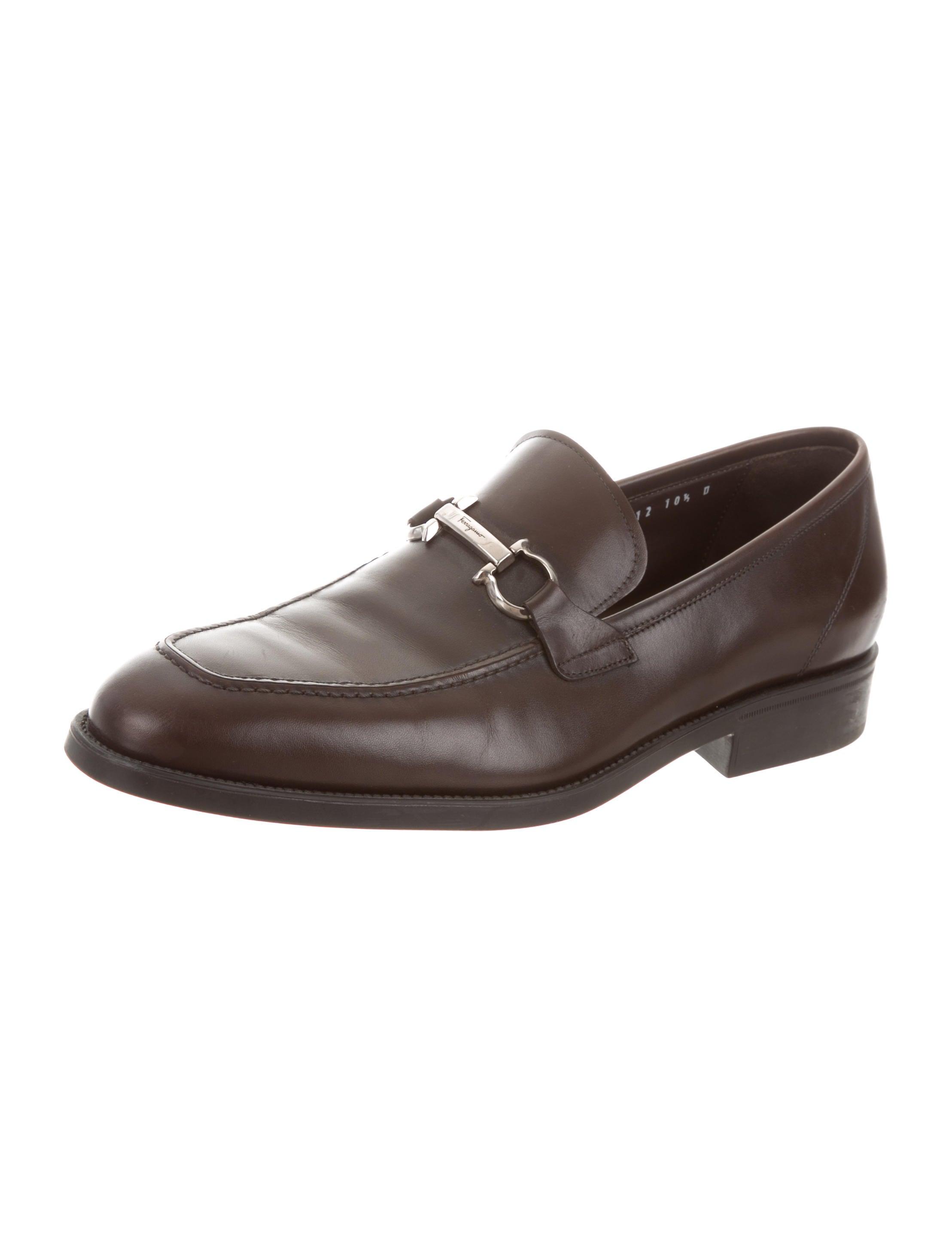 Salvatore FerragamoGancini Leather Loafers