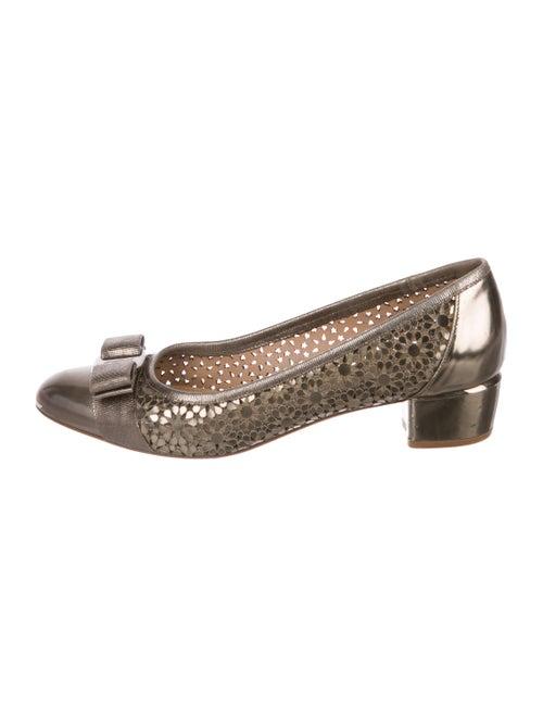 27b547854cc9 Salvatore Ferragamo Vara Bow Laser-Cut Pumps - Shoes - SAL75545 ...
