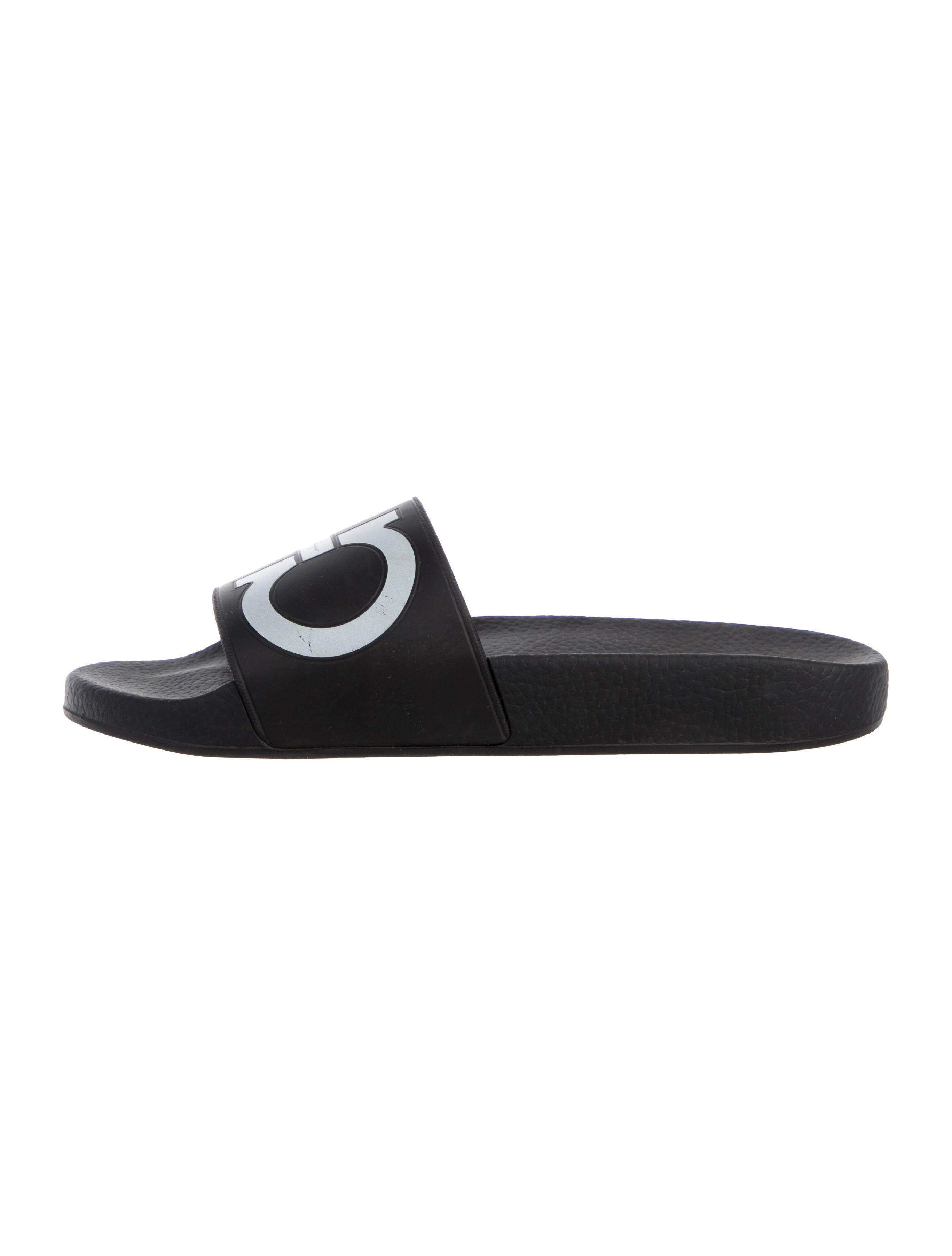 df5563af7bfb Women · Shoes  Salvatore Ferragamo Groove Pool Slide Sandals. Groove Pool  Slide Sandals
