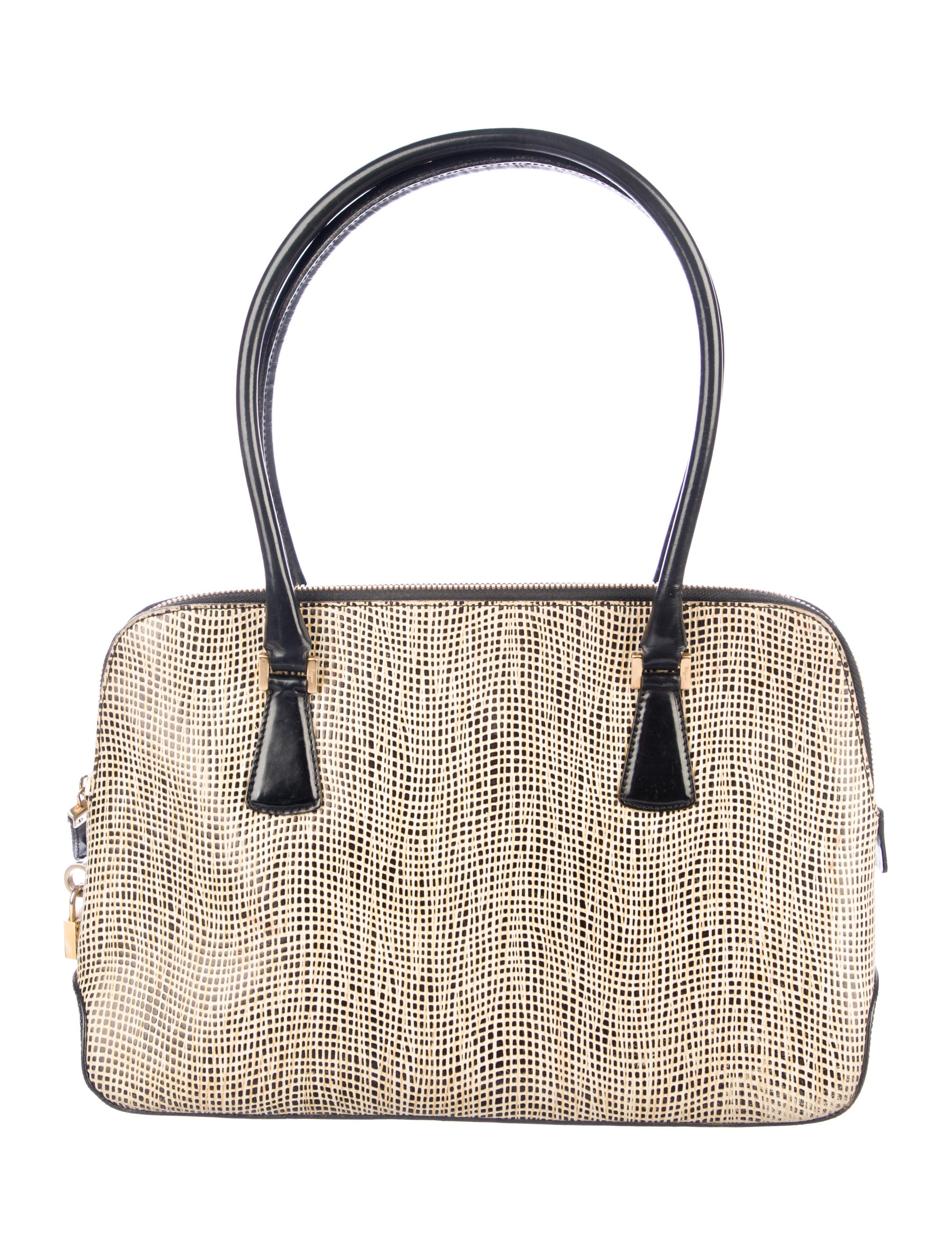 Salvatore Ferragamo Embossed Leather Shoulder Bag - Handbags ... 21f6a49574816