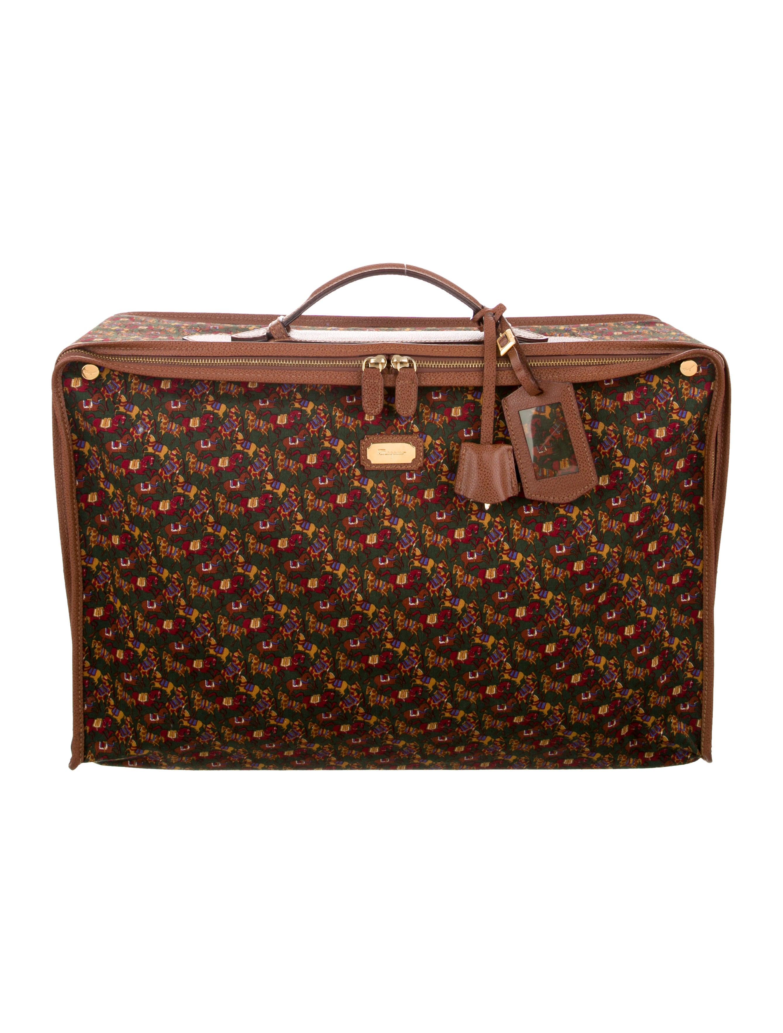 308c96c57d Salvatore Ferragamo Collapsible Travel Bag - Accessories - SAL82891 ...