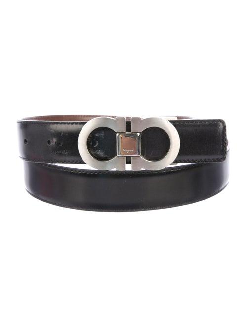 117071905 Salvatore Ferragamo Gancini Reversible Leather Belt - Accessories ...