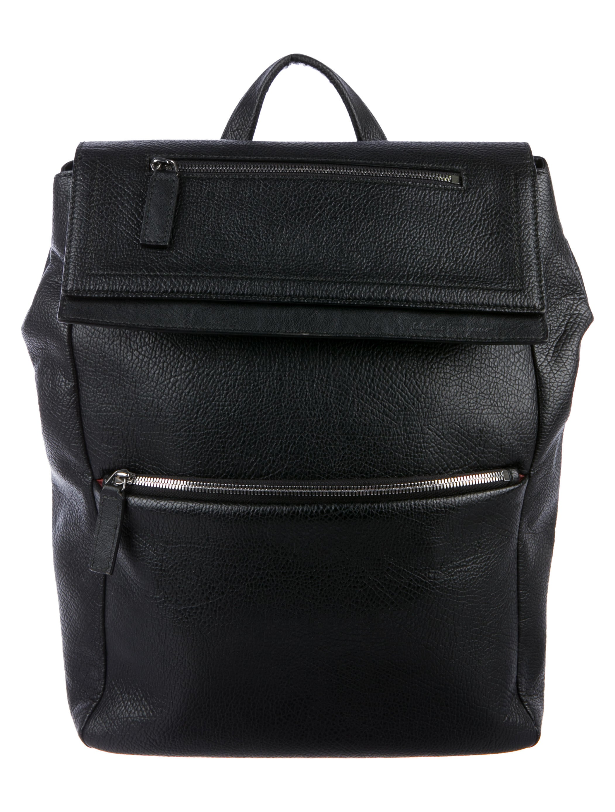 07972e67e617 Salvatore Ferragamo Grained Leather Backpack - Bags - SAL90908