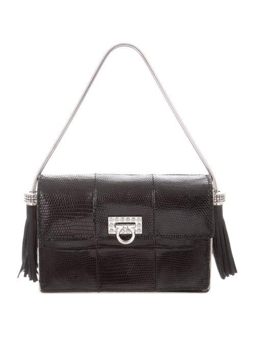 6c2d5da71564 Salvatore Ferragamo Lizard Evening Bag - Handbags - SAL90944