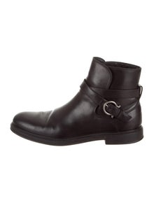 ff4a16646d96 Salvatore Ferragamo. Calder Ankle Boots