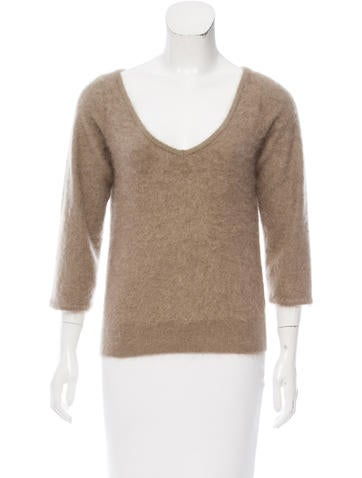 Schumacher Cashmere V-Neck Sweater w/ Tags None