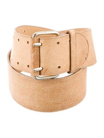 Schumacher Leather Buckle Belt None
