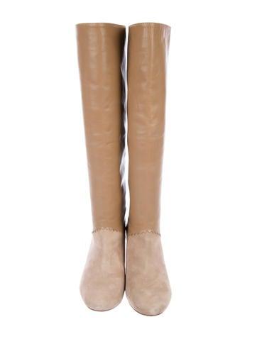 Schumacher Leather Knee-High Boots choice cheap online 7sygGu