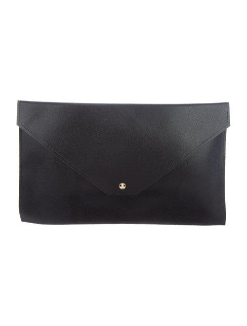 Scully & Scully Flat Leather Portfolio Black