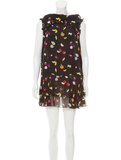 0614f8851a8 Sandy Liang Fruit Print Silk Dress w  Tags - Clothing - SDY20050 ...