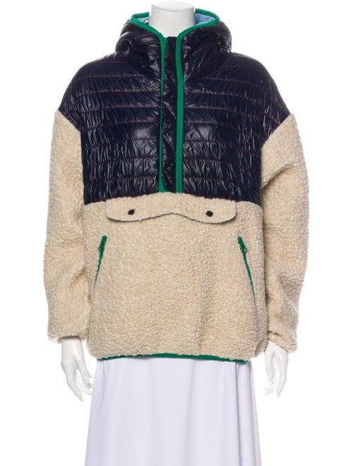 Sandy Liang Colorblock Pattern Performance Jacket