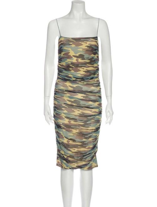 Sandy Liang Ditto Knee-Length Dress Green