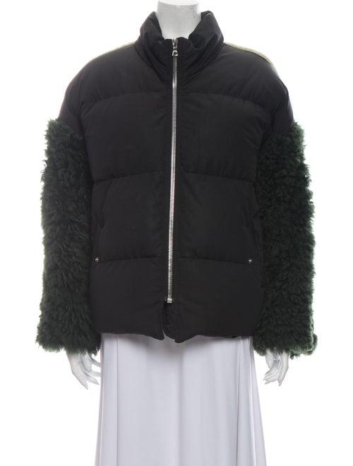 Sandy Liang Fur Jacket Black