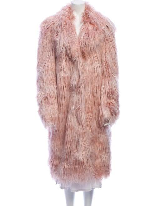 Sandy Liang Faux Fur Coat w/ Tags Metallic