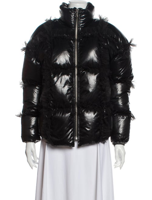 Sandy Liang Down Jacket Black