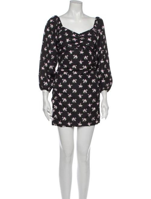 Sandy Liang Pump Mini Dress w/ Tags Black