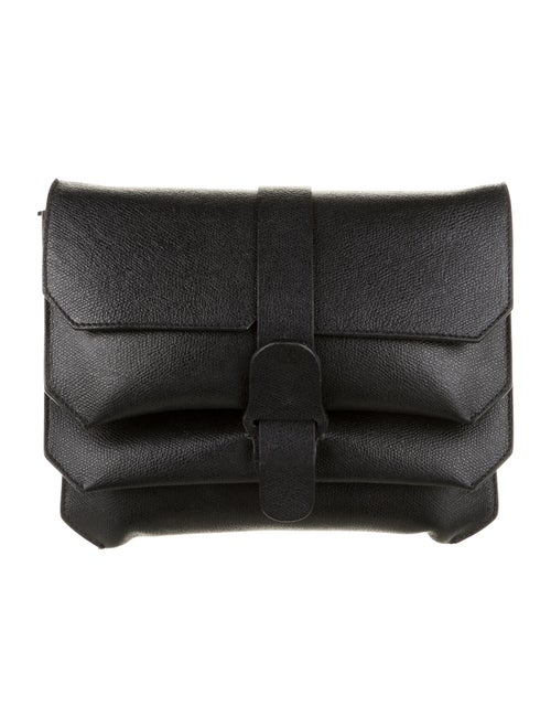 Senreve Leather Crossbody Bag Black