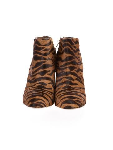 Tiger Print Booties