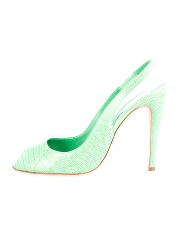 Lizardskin Pumps