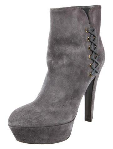 Gilet Platform Ankle Boots