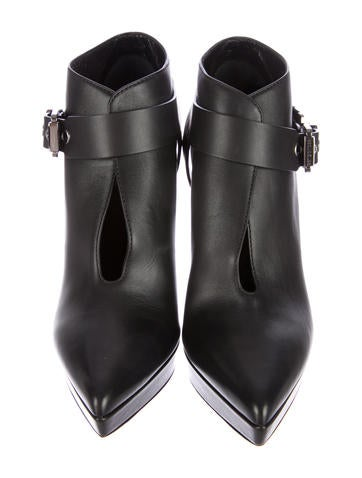 Pointed-Toe Booties