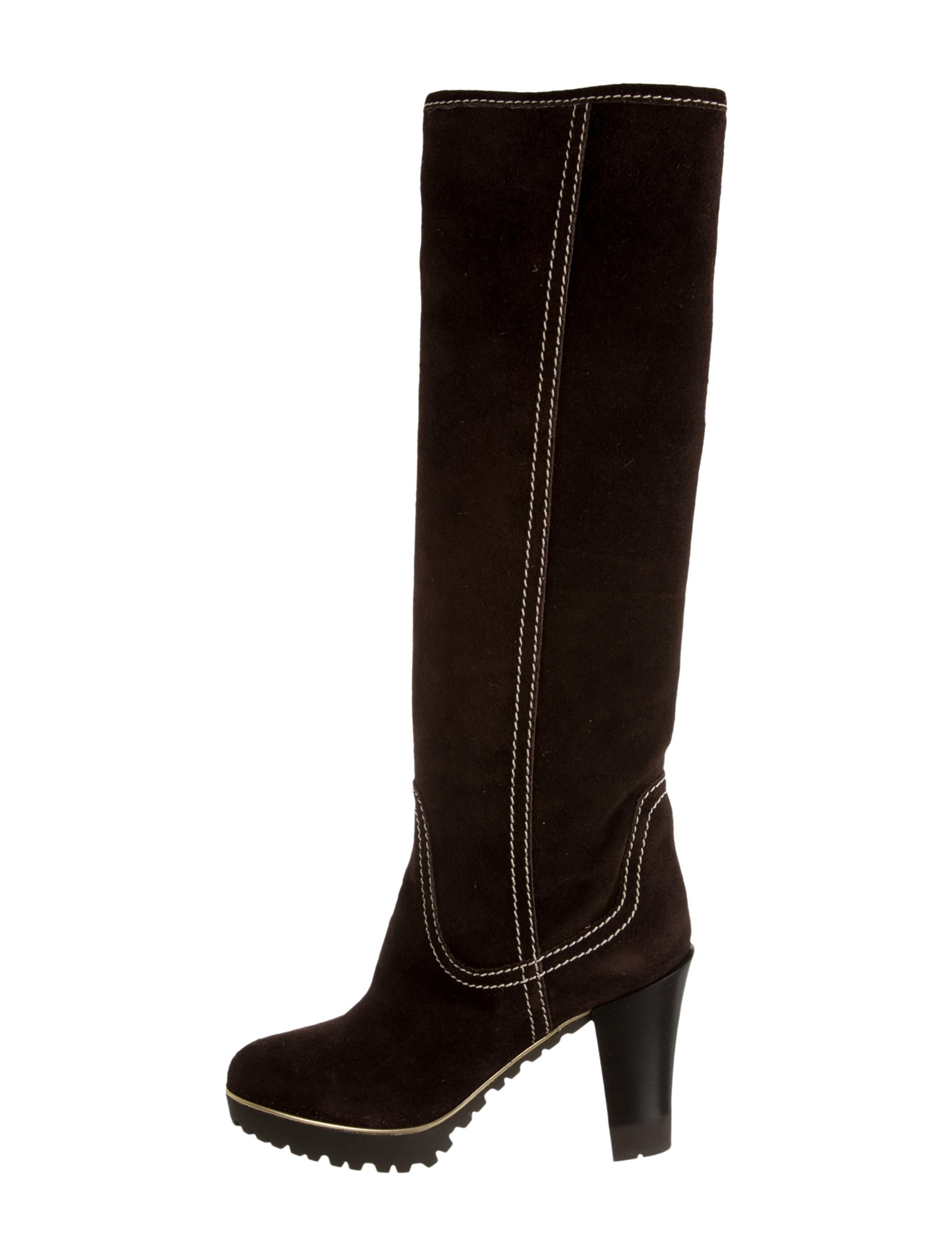 sergio suede knee high boots w tags shoes