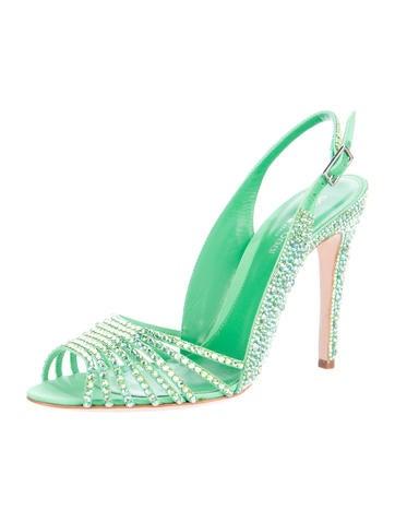 Crystal Slingback Sandals