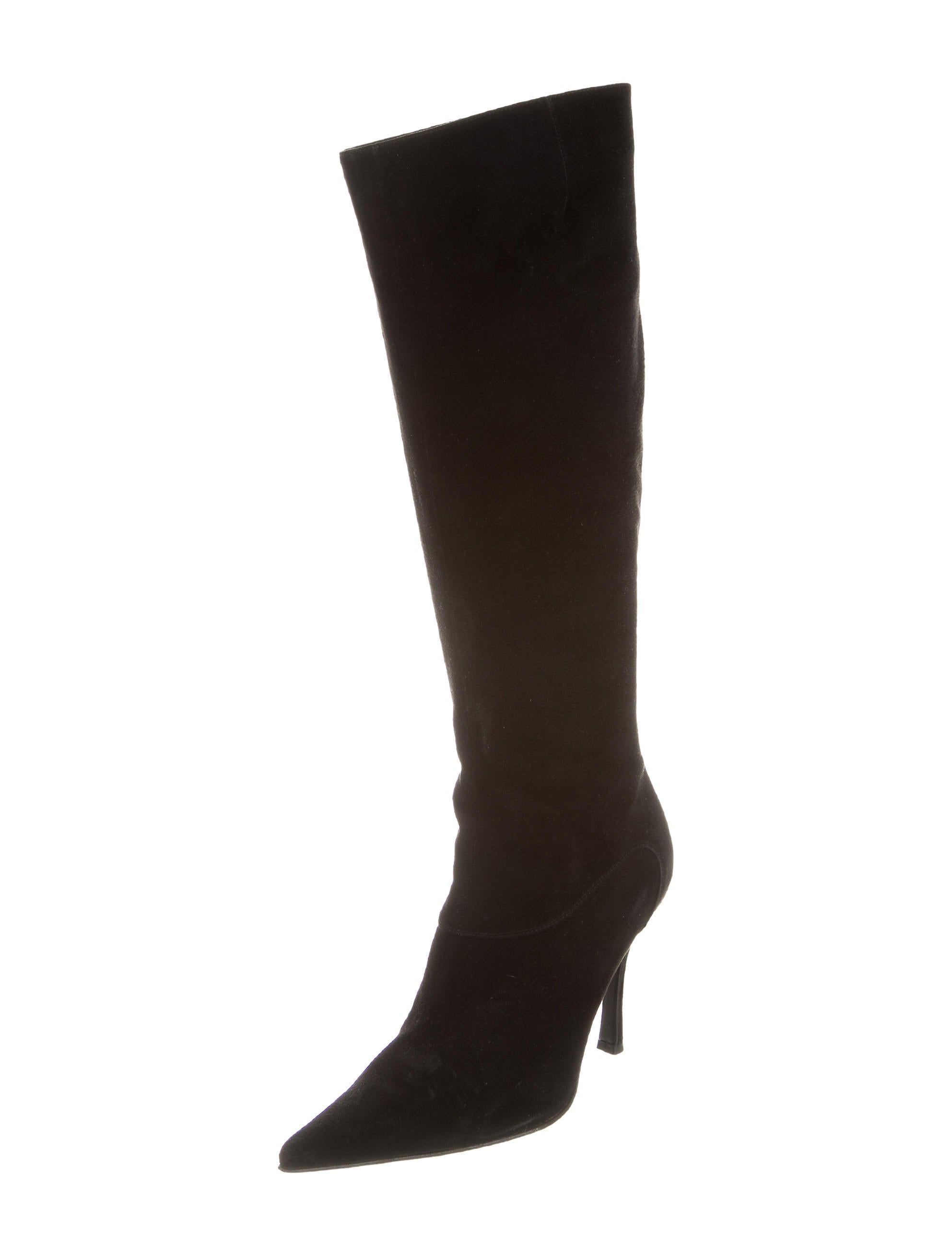 sergio suede knee high boots shoes ser26057