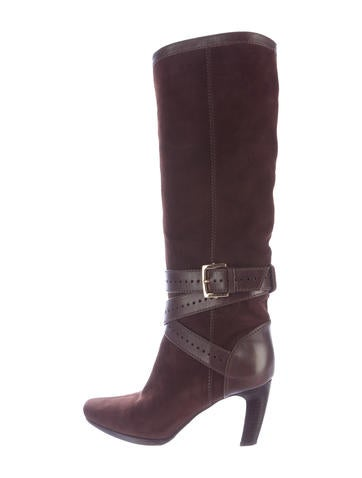 sergio suede knee high boots shoes ser26109