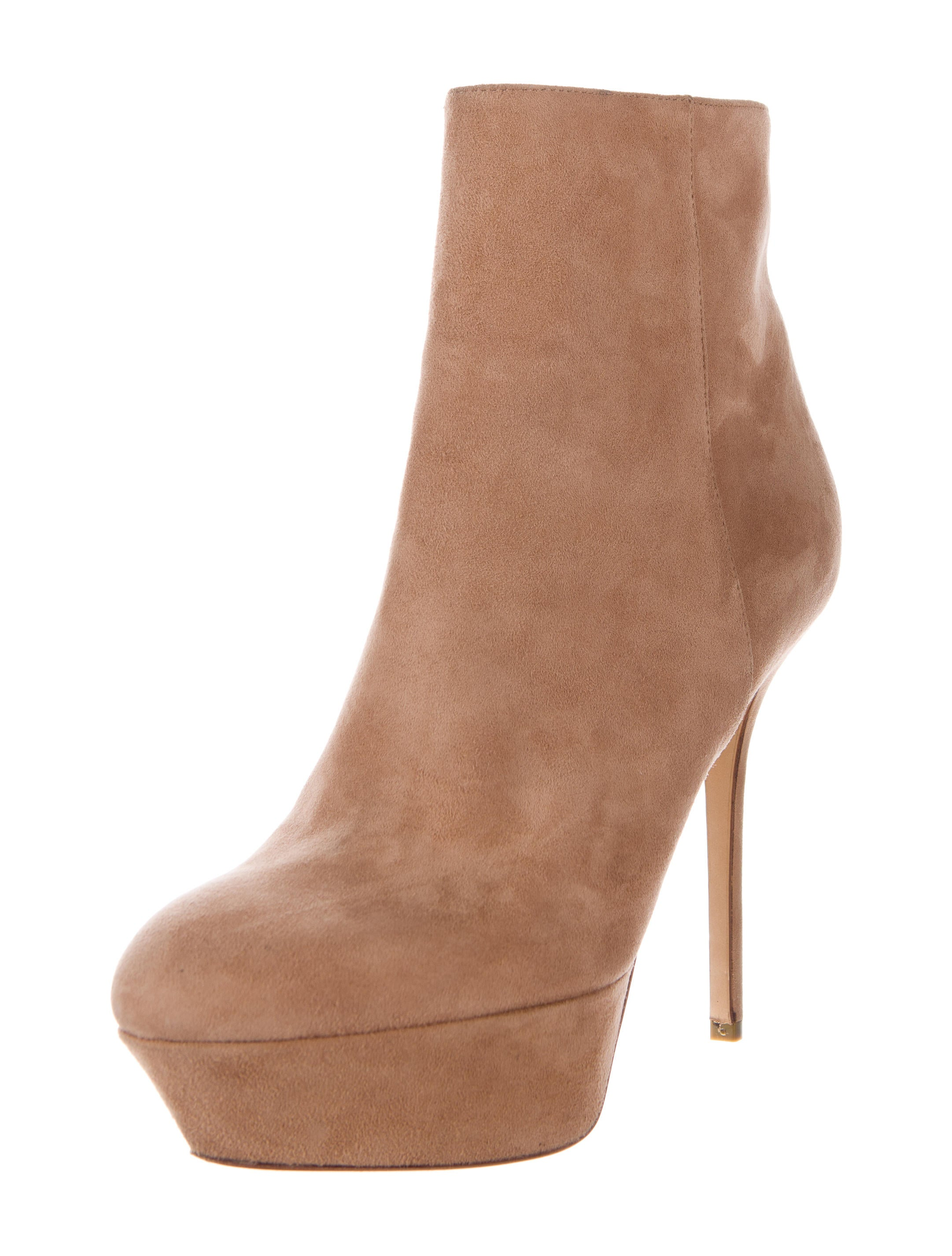 sergio suede platform booties shoes ser26241