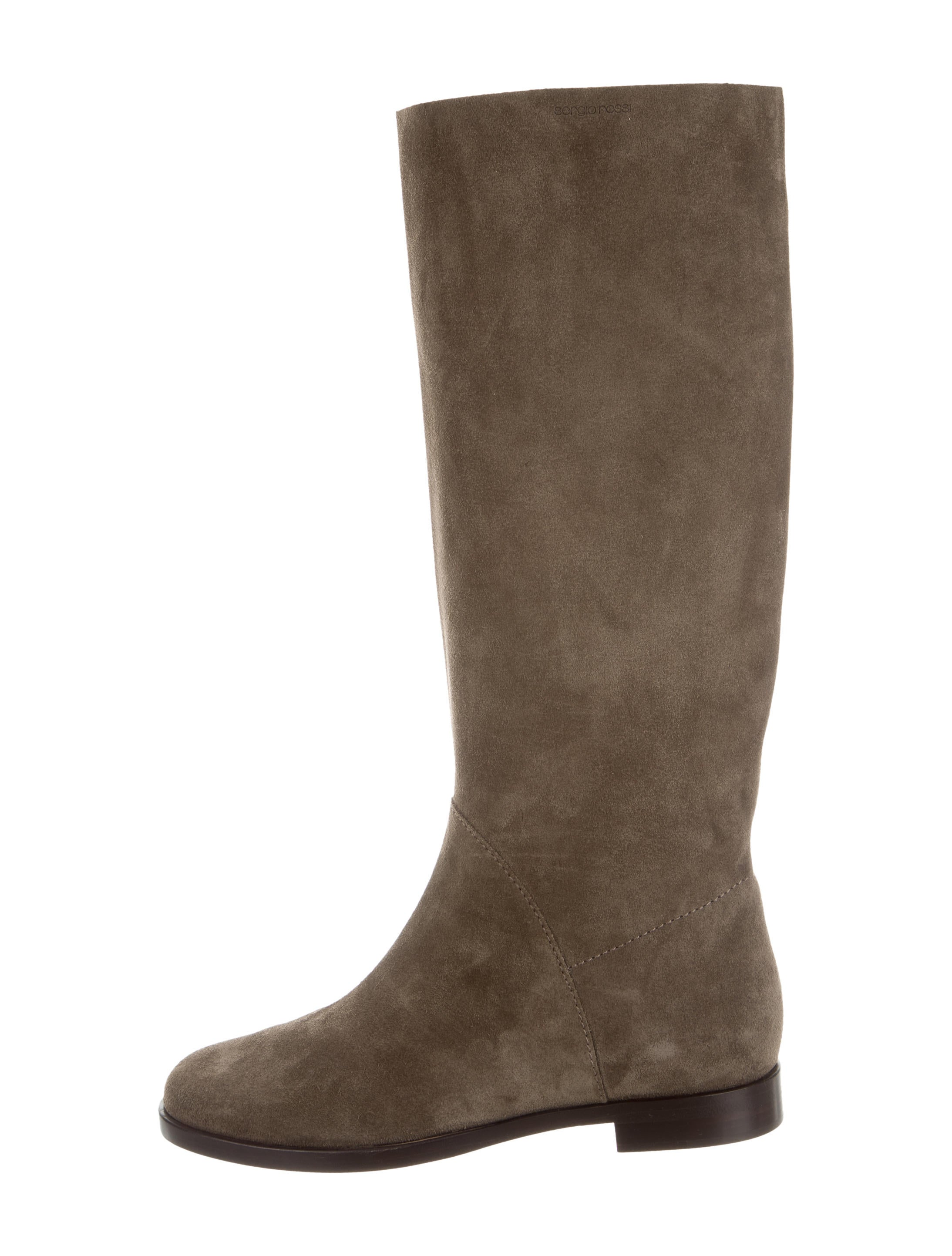 sergio suede knee high boots shoes ser27347