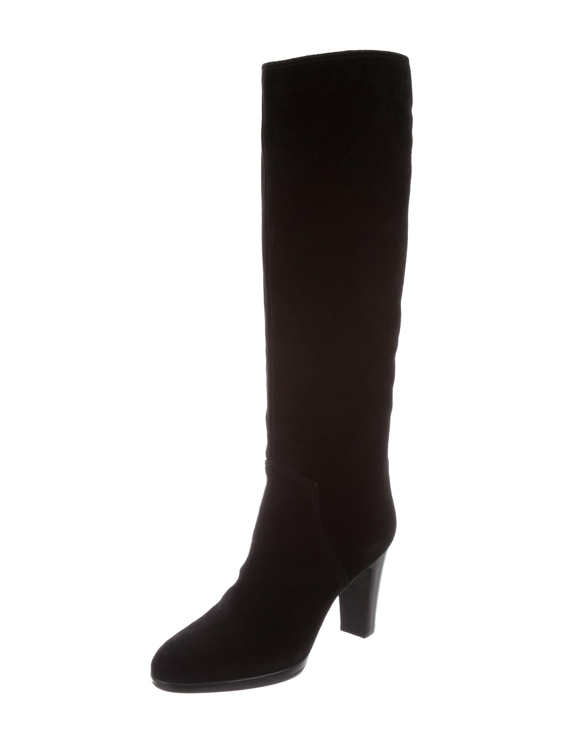 sergio suede knee high boots shoes ser28815