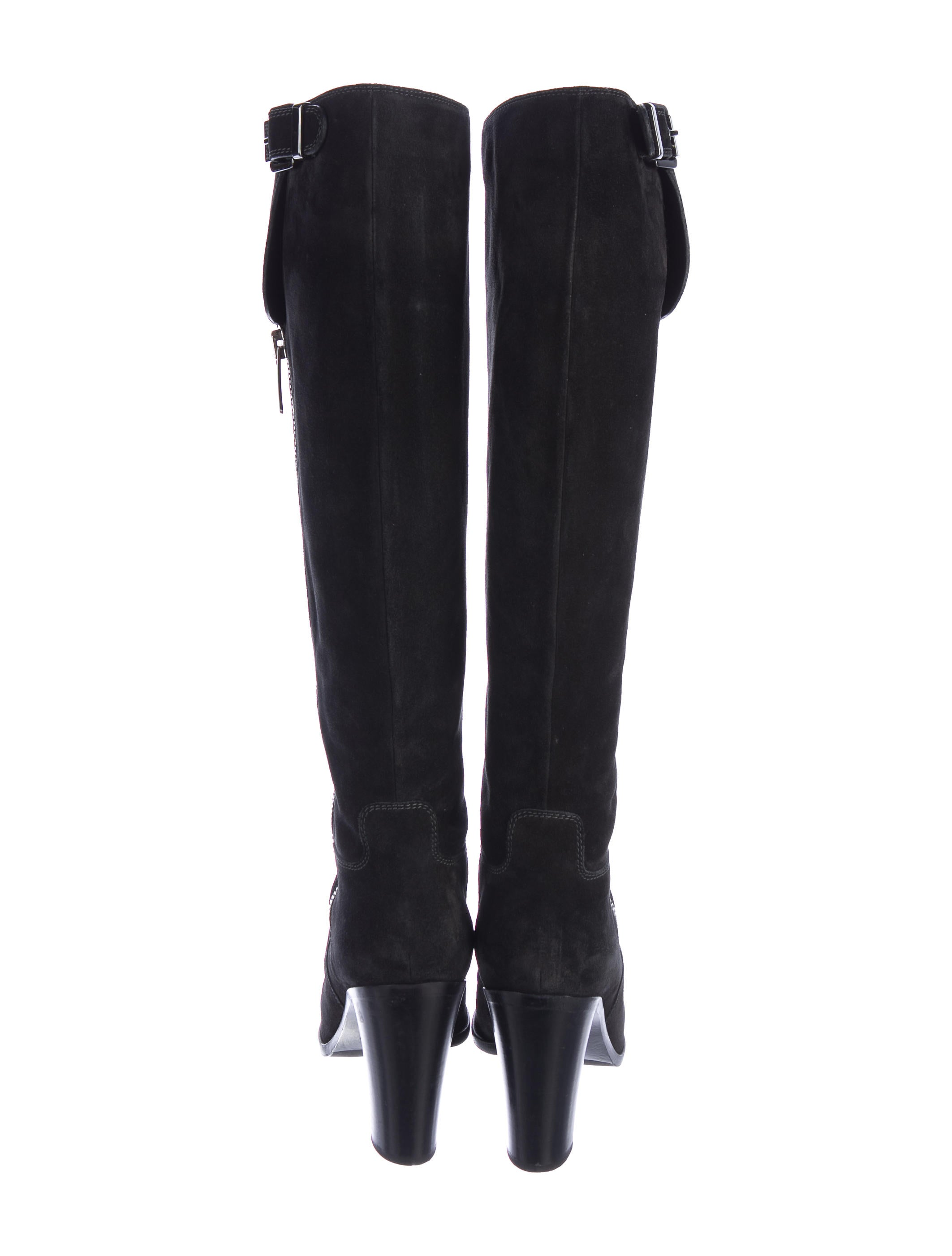 sergio suede knee high boots shoes ser29312
