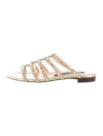 Sergio Rossi Studded Multistrap Sandals w/ Tags best for sale cheap very cheap outlet marketable 2014 unisex online purchase y1GdC6JdWt