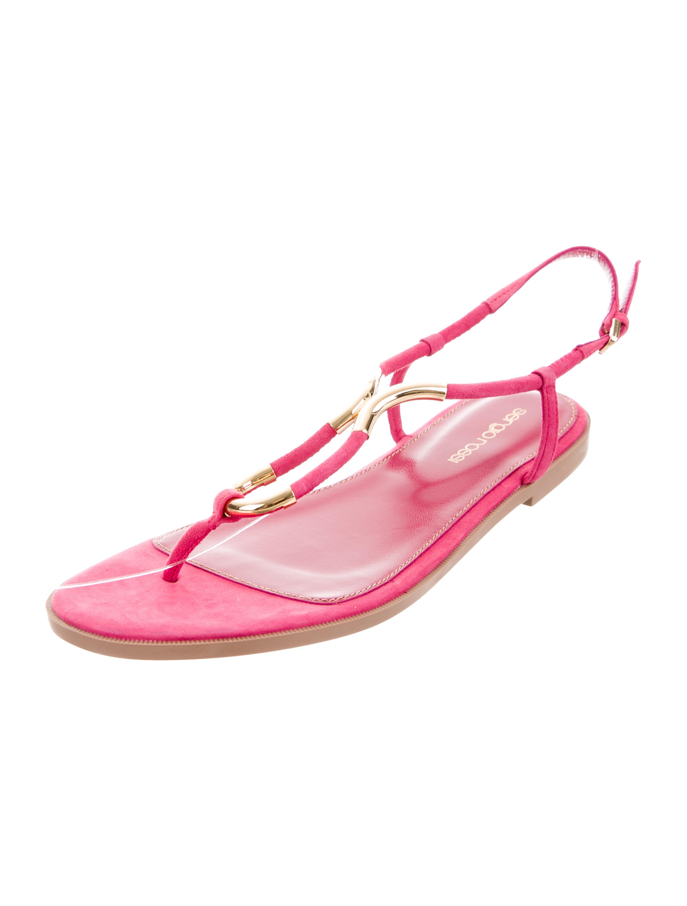 big sale cheap price Sergio Rossi Twist Embellished Sandals w/ Tags free shipping classic pay with paypal online classic cheap price recommend cheap price 8yK7gMfdV