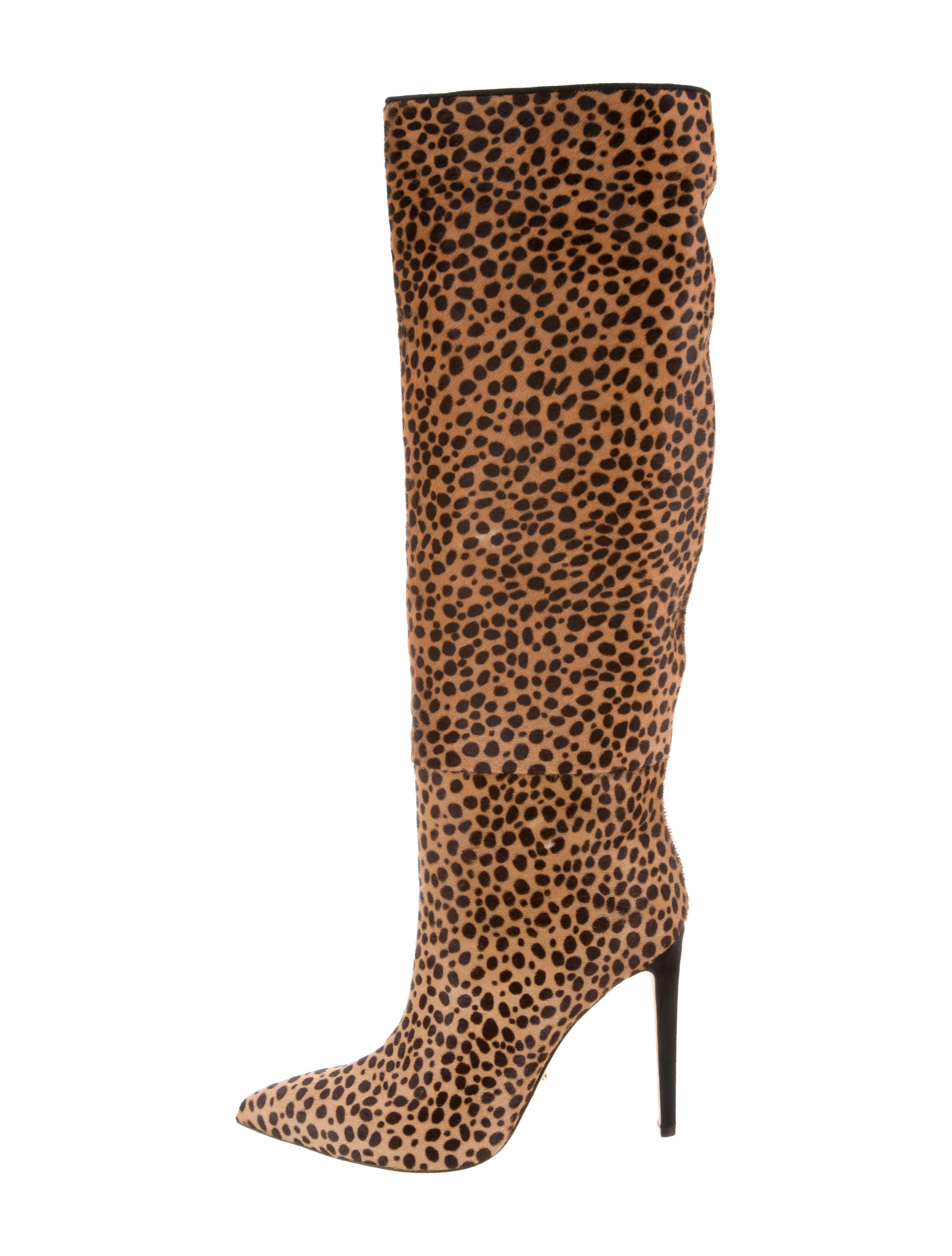 sale amazing price Sergio Rossi Matrix Ponyhair Boots w/ Tags good selling for sale NipVQ6IgXc