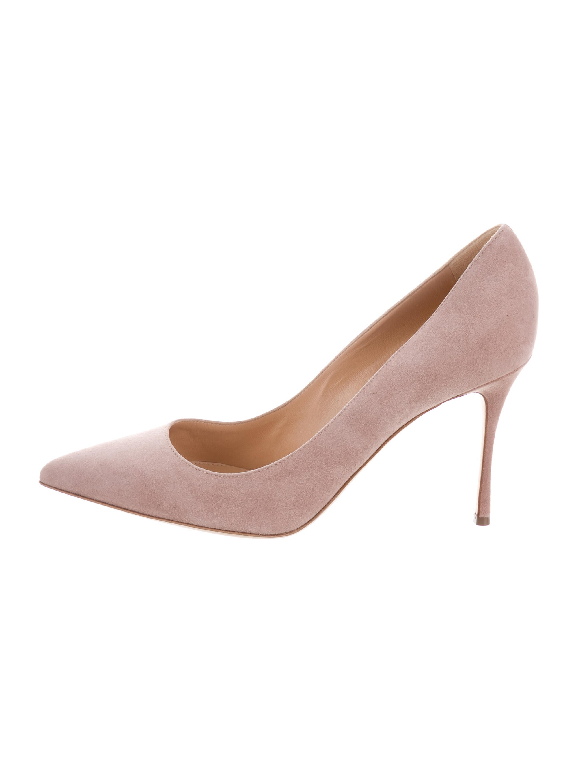 cheap sale pictures Sergio Rossi Suede Pointed-Toe Pumps w/ Tags low cost clearance best prices outlet cheapest price O40IsNYs