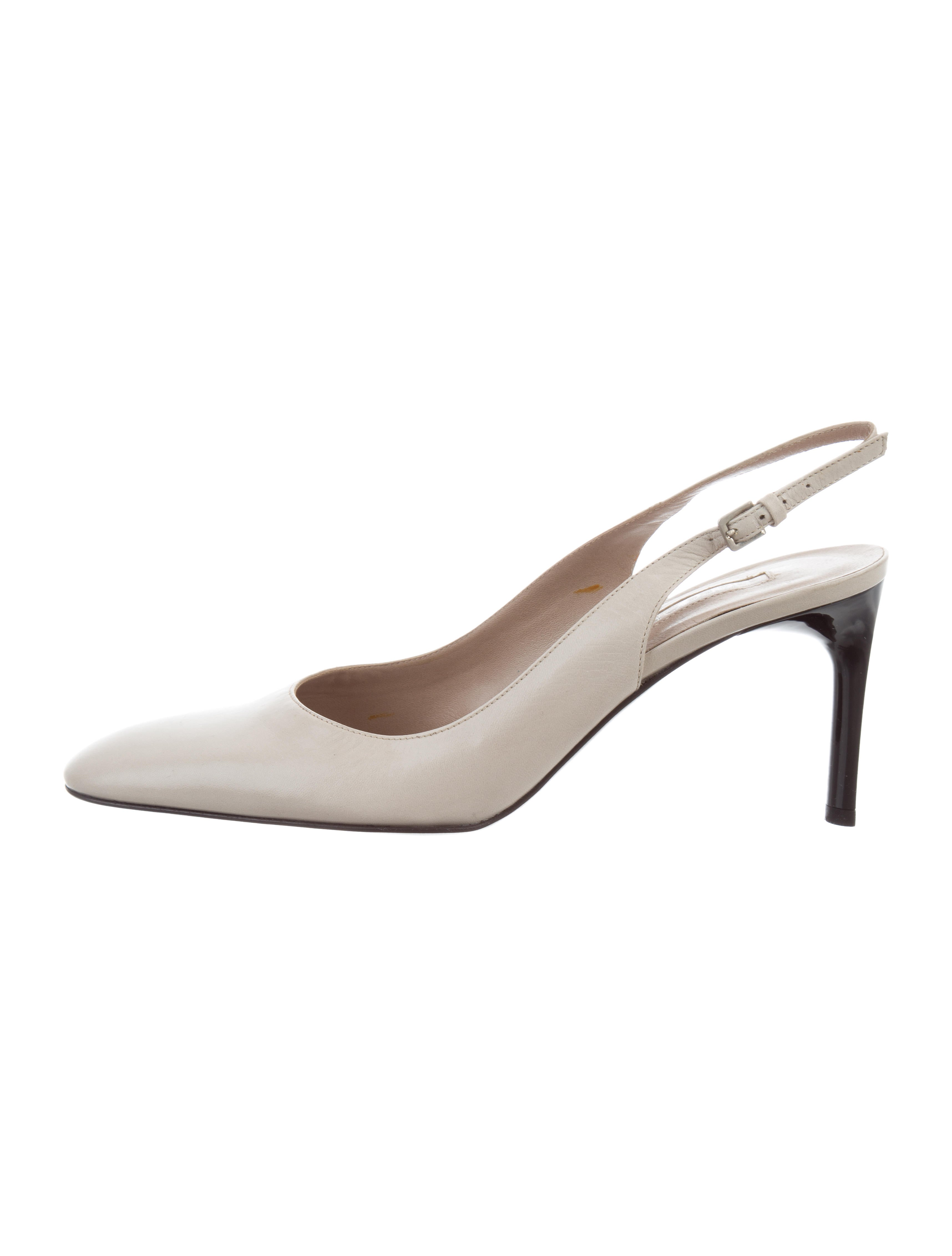 Sergio Rossi Slingback Round-Toe Pumps discount 2014 new in China sale online buy cheap pictures good selling cheap online jwHyfG1p