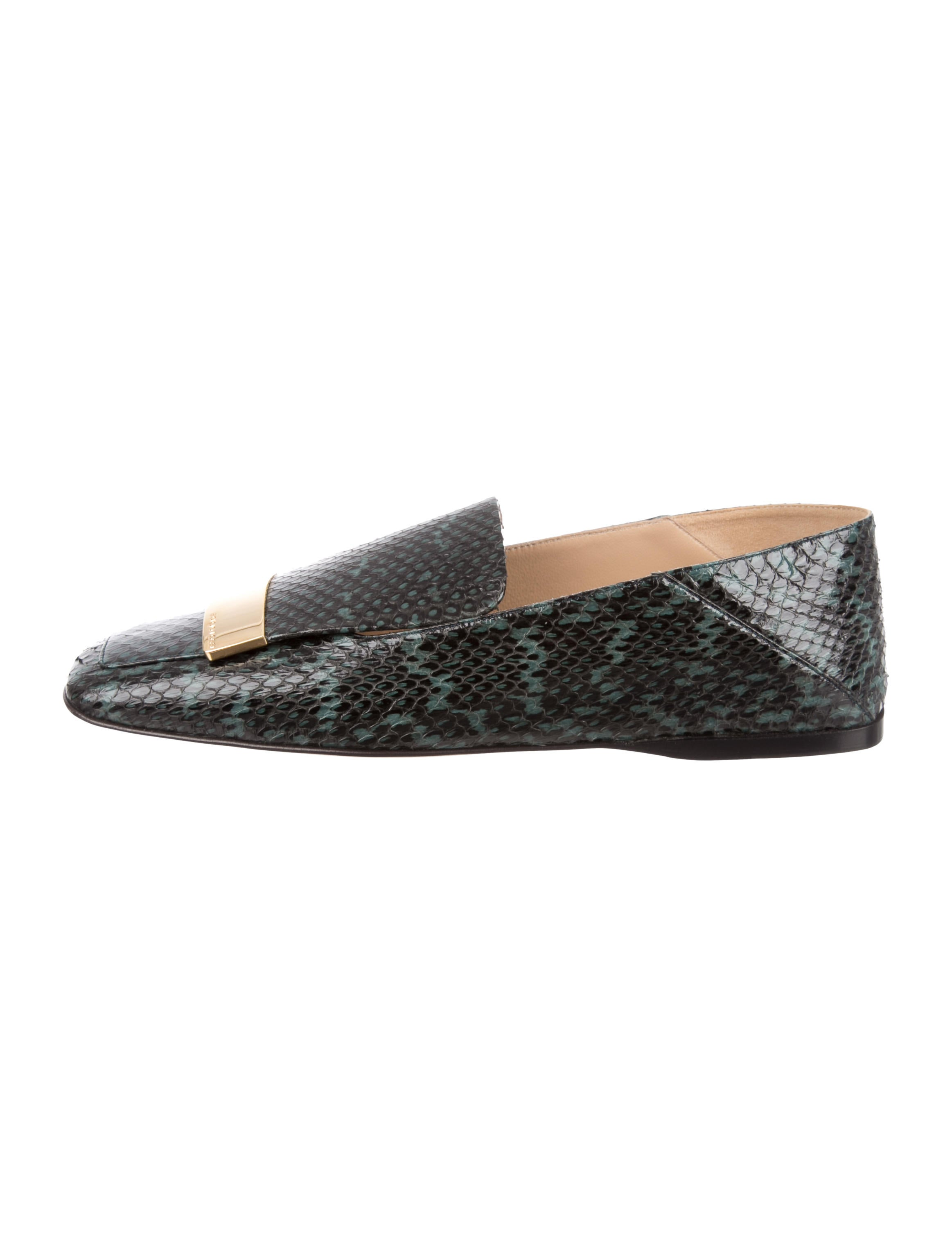 Sergio Rossi Sri Snakeskin Loafers w/ Tags wiki cheap online cheap price discount authentic free shipping pay with paypal fake for sale x3v4Nu