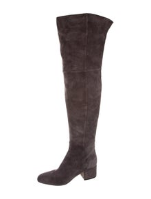 7a1c21a5234 Sergio Rossi. Suede Over-The-Knee Boots