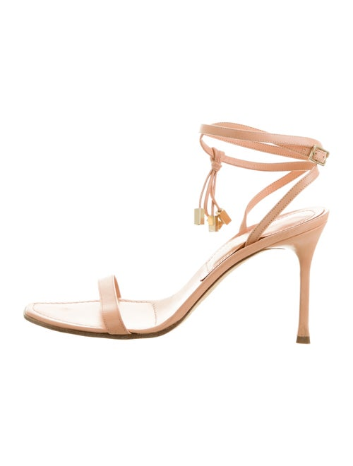 Sergio Rossi Leather Sandals Pink