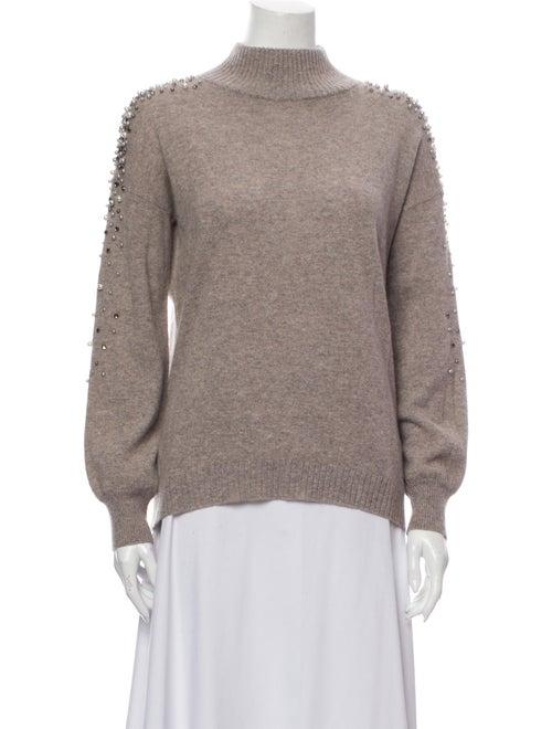 Sofia Cashmere Cashmere Turtleneck Sweater Brown