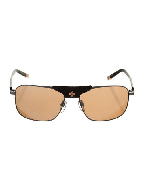 Shamballa Evil Eye Square Sunglasses Black