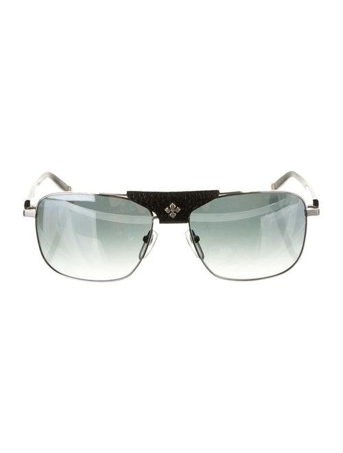 Shamballa Evil Eye Sunglasses Silver