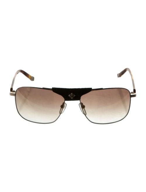 Shamballa Evil Eye Sunglasses white