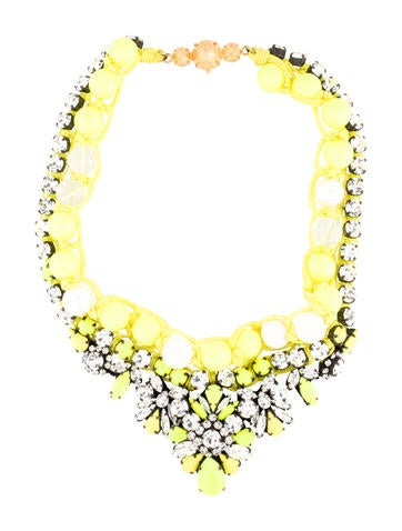 Shourouk Theresa Yellow Necklace None
