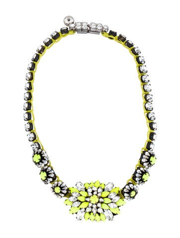 Shourouk Neon Crystal Necklace None