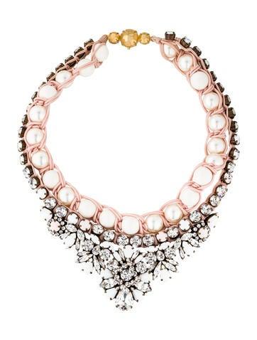 Shourouk Theresa White Necklace None